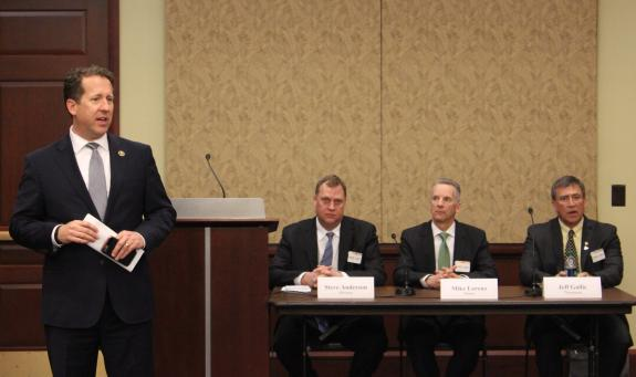 Smith Featured at Briefing on Lifting Ethanol Regulations to Increase Consumer Choice