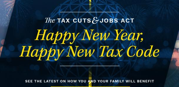 Tax Reform Signed Into Law feature image